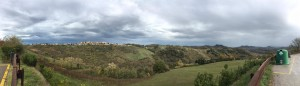 Panoramica Sogliano da San Donato