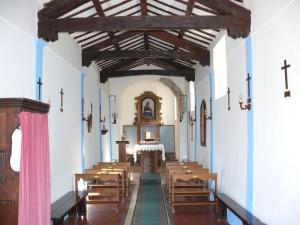 Interno della chiesa della Madonna Pie' di Monte