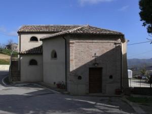La chiesa della Cella a Montetiffi