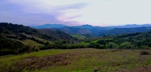 Panoramica Meleto
