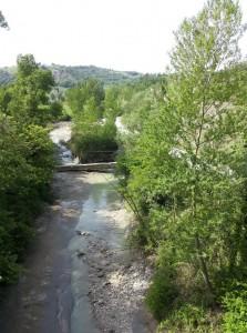fiume Uso Particolare sentiero Massamanente